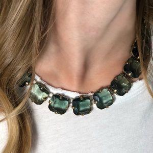 Emerald J.Crew Necklace
